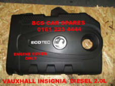 VAUXHALL  INSIGNIA   ENGINE  COVER    DIESEL    2.0L  CDTI   2010 - 2013